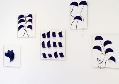 Arbeiten von Jessica Kulp (Wandobjekte)