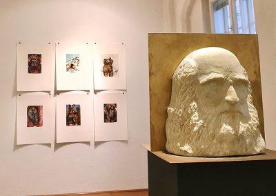Barbare Westphal (Skulptur), Gudrun Jakubeit